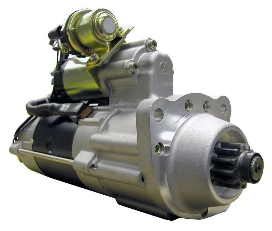 M105R2501SE_New Starter Motor Power Pro 12V 12T 10/12 DP Pinion Pitch CW Rotation 5KW with Wet Clutch