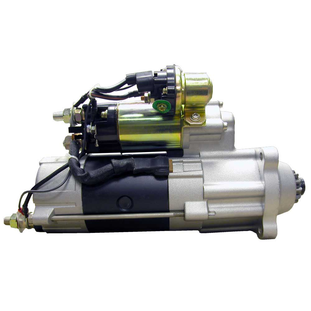 M105R2512SE_New Starter Motor Power Pro M105 12V 12T 8/10 DP Pinion Pitch CW Rotation 5KW with Wet Clutch