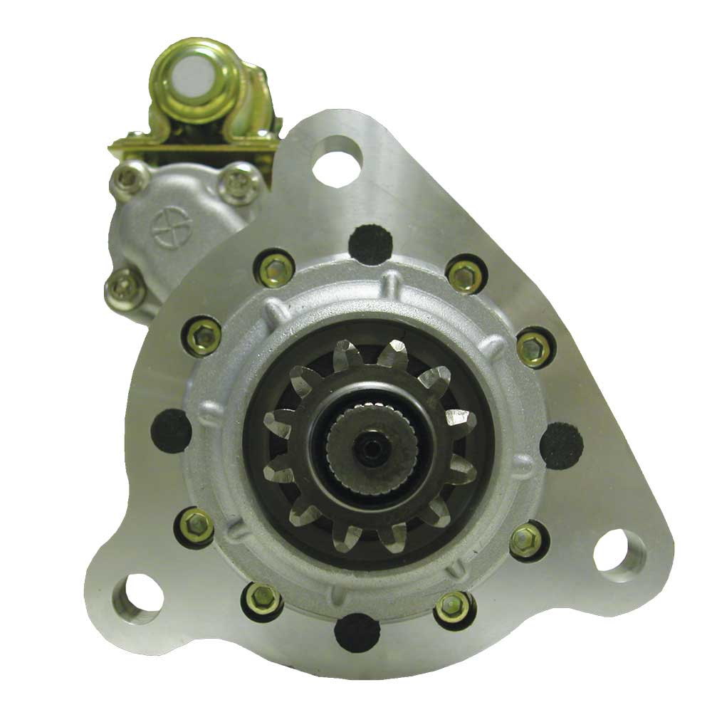 M105R2513SE_New Starter Motor Prestolite Leece Neville Electric 12V 12T 8/10 DP Pinion Pitch CW Rotation 5KW with OCP and Wet Clutch