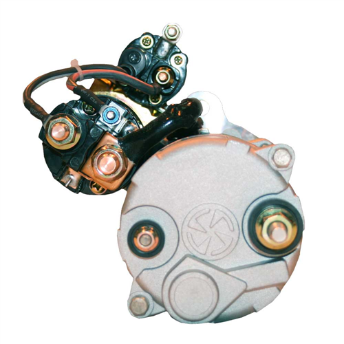 M105R3507SE_POWER PRO Leece Neville Starter Motor 7.5 kWh SAE3 Grounded - Earth return CW 52 12 Tooth 24 V Not Waterproof Wet Clutch
