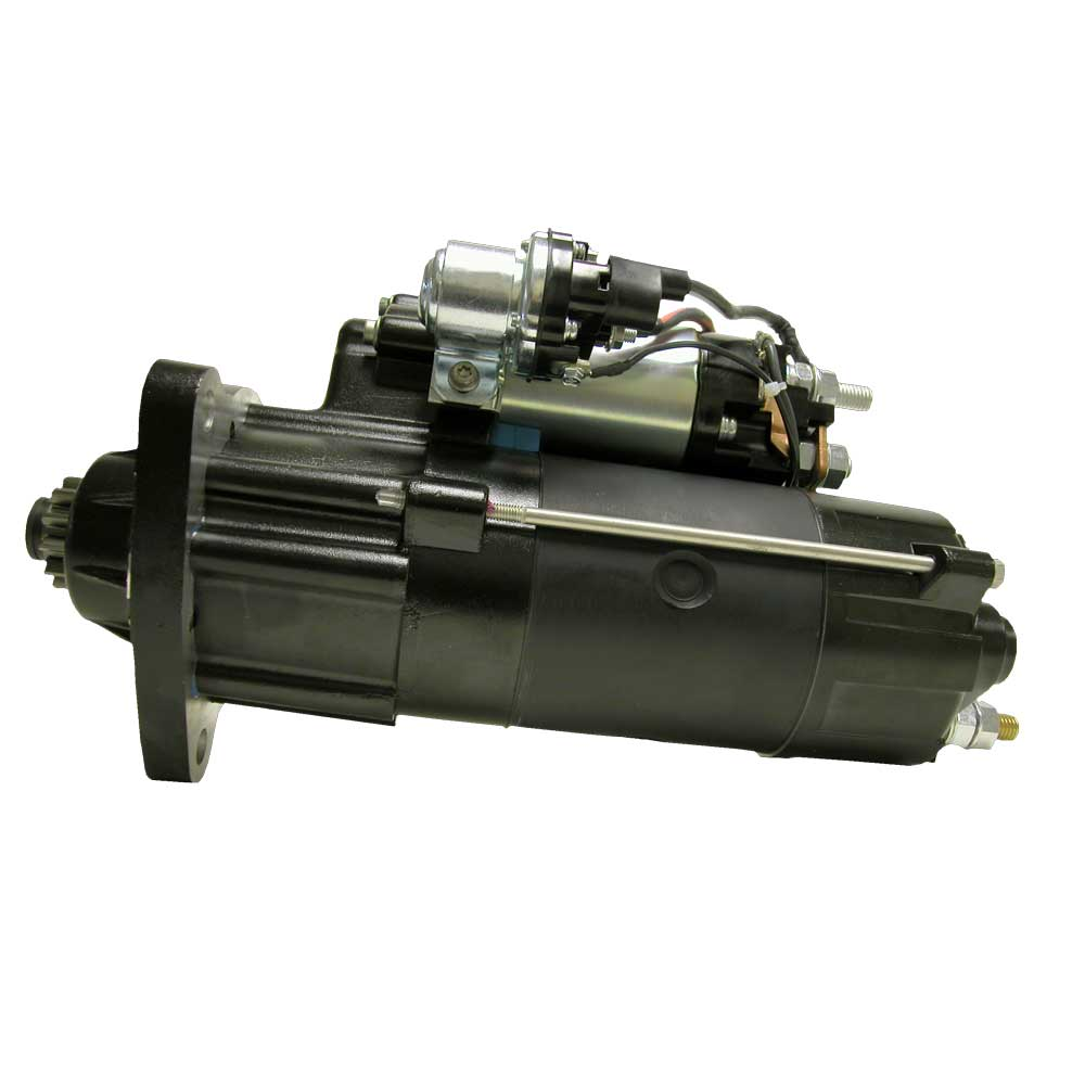 M110604_New Starter Motor M110 12V MOD 3 Pinion Pitch Cw Rotation 7KW with OCP and Wet Clutch