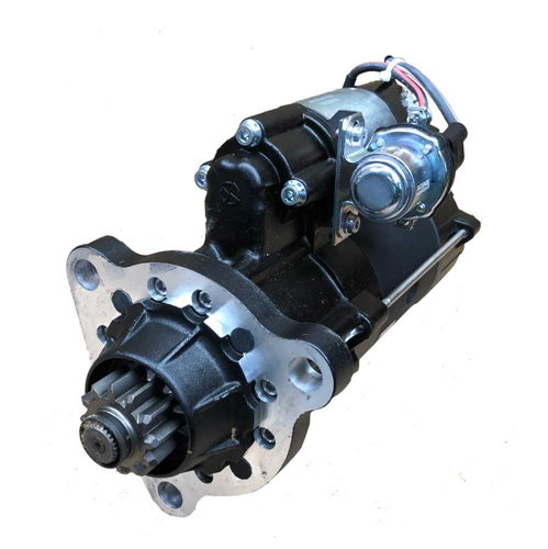 M110R2610SE_Pretolite Leece Neville New Starter Motor Power Pro 12V 12T 8/10 DP Pinion Pitch CW Rotation 7KW With OCP With Wet Clutch