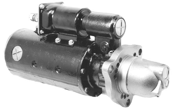 MS7-300A_New Starter Motor Prestolite Leece Neville Electric 24V 11T 6/8 DP Pinion Pitch CW Rotation 9KW with Wet Clutch