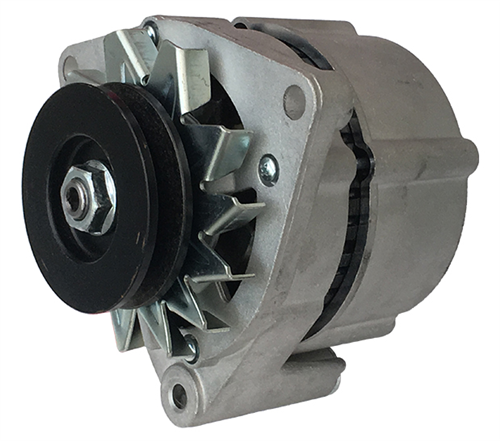 A5001B_PRESTOLITE Leece Neville 12V 55A  Brush Alternator.