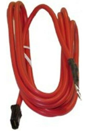 0203800_Buyers, SaltDogg 96 Inch Red Battery Cable with Ring for TGS Series Spreaders