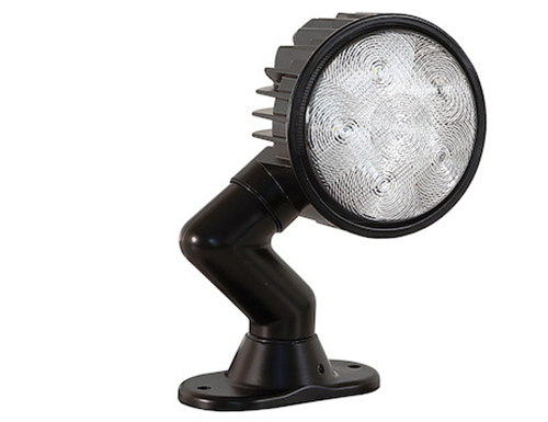 1492125_Buyers Articulating 5 Inch Wide Round LED Flood Light
