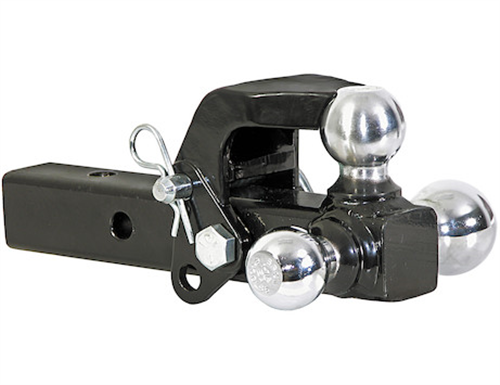 "1802279_Buyers 2"" Tri-Ball Hitch with Pintle Hook"
