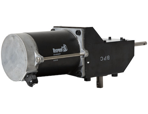 3015377_Buyers, SaltDogg .4 HP 12 VDC Dual Shaft Gear Motor Assembly for TGS03 & TGS07 Spreaders