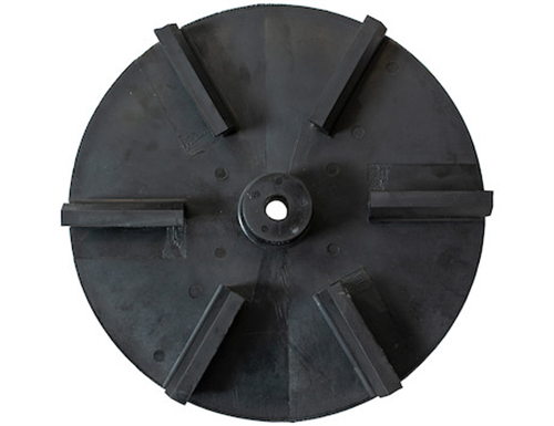 3016394_Buyers, SaltDogg 14 Inch Poly CCW Spinner Disk for 9035100 & 9035101 Electric Tailgate Spreaders