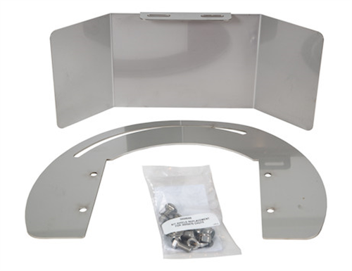 3030599_Buyers, SaltDogg Replacement Chute Shield Kit For SHPE 0750, 1000, 15000, And 2000 Series Spreaders