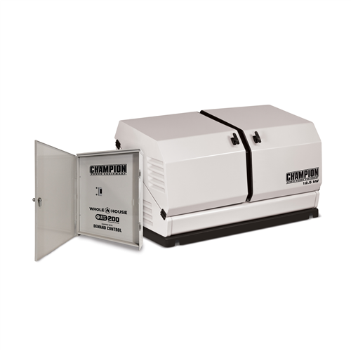 CP100291_CHAMPION 12.5kW Home Generator with ATS 200 SE Demand Control