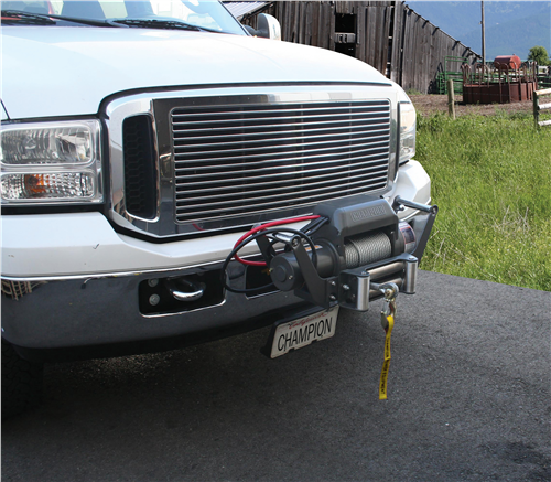 CP11006_CHAMPION 11006 10,000lb HD Winch Kit with Speed Mount