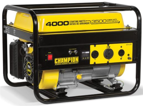 CP46596_CHAMPION 3500W Portable Generator with Recoil Start