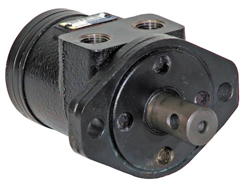 HM006P_Buyers, Char-Lynn, Western Hydraulic Spinner Motor With 2-Bolt Mount And Cross-Drilled Shaft 101-1319, 95277