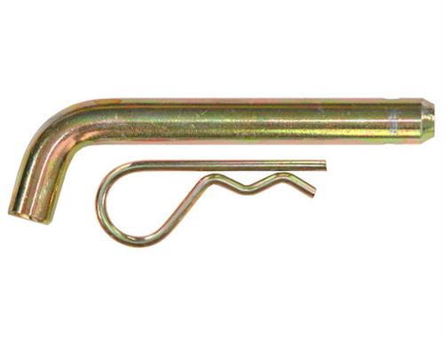 HP6256WC_Buyers 5/8 X 3.8 Inch Yellow Zinc Heavy-Duty Hitch Pin With Cotter Pin - Fits 2-1/2 Inch Receivers
