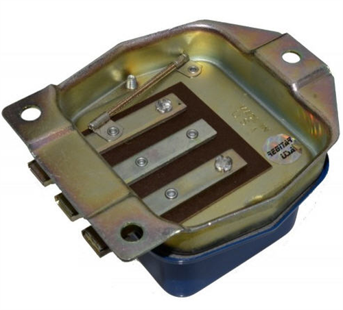 RVR210_Regitar, Ford Mechanical Regulator 6V, 17A, Positive Ground, A-Circuit; Used on Ford 8N Tractors